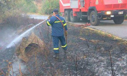 Αγρίνιο-Κινητοποίηση για φωτιά στο Άνω Κεράσοβο!