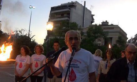 Άναμμα του Βωμού της φλόγας των Εθελοντών Αιμοδοτών στο Αγρίνιο (φωτο)