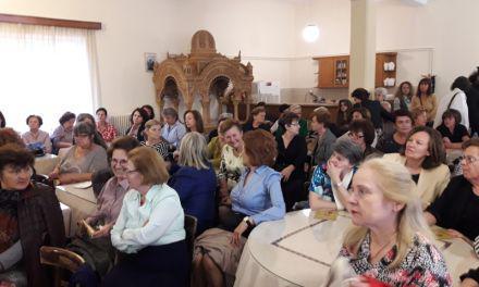 Αγρίνιο: Η δημοσιογράφος Μαρία Γιαχνάκη στην σύναξη της Διακονίας Στηρίξεως Γυναικών