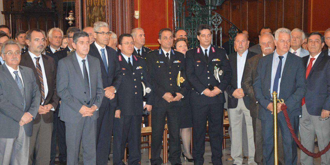 Εορτασμός του προστάτη του σώματος της Ελληνικής Αστυνομίας Μεγαλομάρτυρα Αγίου Αρτεμίου και της Ημέρας της Αστυνομίας