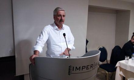 Ο  Γιάννης Μανιάτης σε Μεσολόγγι και Αγρίνιο-Δήλωση για το θέμα της εκτροπής του Αχελώου (βιντεο-φωτο)