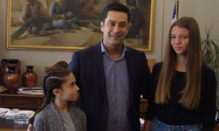 Τον Δήμαρχο Αγρινίου επισκέφθηκαν Μπιτσικώκου και Τσίγκα