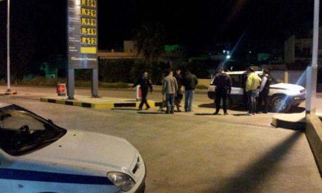 Αγρίνιο: Σκηνές «φαρ ουέστ» σε βενζινάδικο