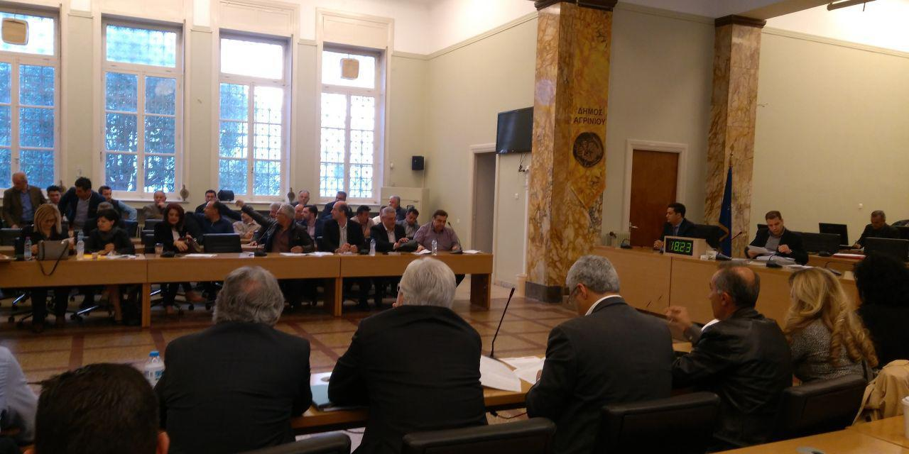 Συνεδριάζει 28 Μαρτίου  το δημοτικό συμβούλιο Αγρινίου