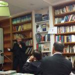 Ομιλία Μαρία Καλπουζάνη  σε εκδήλωση στη Στοά Βιβλίου