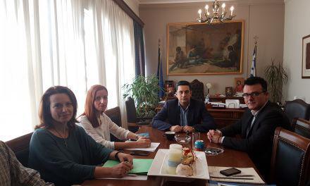 Συνάντηση Αντιπεριφερειάρχη Ενέργειας και Περιβάλλοντος Ν. Μπαλαμπάνη με Δήμαρχο Αγρίνιου
