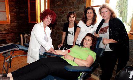 Με μεγάλη επιτυχία η 5η Εθελοντική Αιμοδοσία στο Ελαιόφυτο