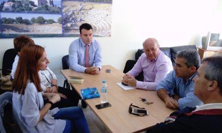 Συνάντηση εργασίας του αντιπεριφερειάρχη  Ν. Μπαλαμπάνη για τον ΧΥΤΑ Μεσολογγίου