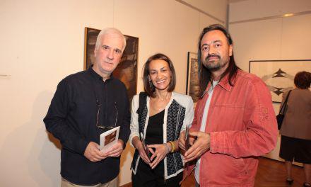 Εγκαίνια της έκθεσης με την τρίτη ενότητα δωρεών έργων τέχνης προς τη Δημοτική Πινακοθήκη Αγρινίου