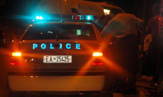 Δυτική Ελλάδα: Οδηγός ΙΧ δεν σταμάτησε σε μπλόκο και «στούκαρε» σε περιπολικό
