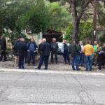 Διαμαρτυρία της ΟΑΣ στο Δασαρχείο Αμφιλοχίας (φωτο)