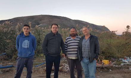 Επίσκεψη Δ. Κωνσταντόπουλου στη Δ.Ε Οινιάδων για τις καταστροφές από την κακοκαιρία