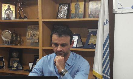 Ο Γ. Κωνσταντίνου ομιλητής στη Δευτεριάτικη συγκέντωση των διαιτητών της ΕΠΣ Αιτ/νίας
