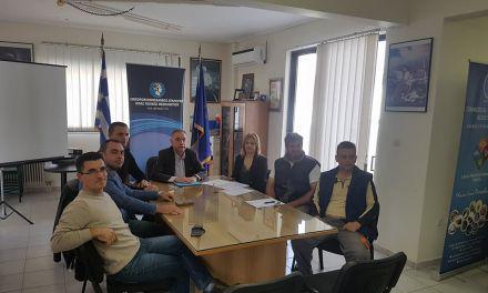 Συνάντηση Π.Τσιχριτζή με υποψήφιους του από  Μεσολόγγι και Αστακό