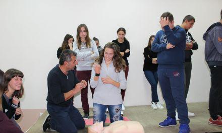 ΓΕΛ Αμφιλοχίας-Ενημέρωση των μαθητών για τις πρώτες βοήθειες