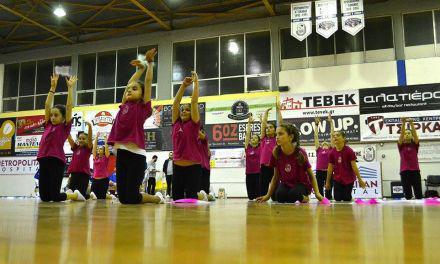 Γ. Σ. Χαρίλαος Τρικούπης Μεσολογγίου-Η επίδειξη της ενόργανης και ρυθμικής γυμναστικής(βίντεο)