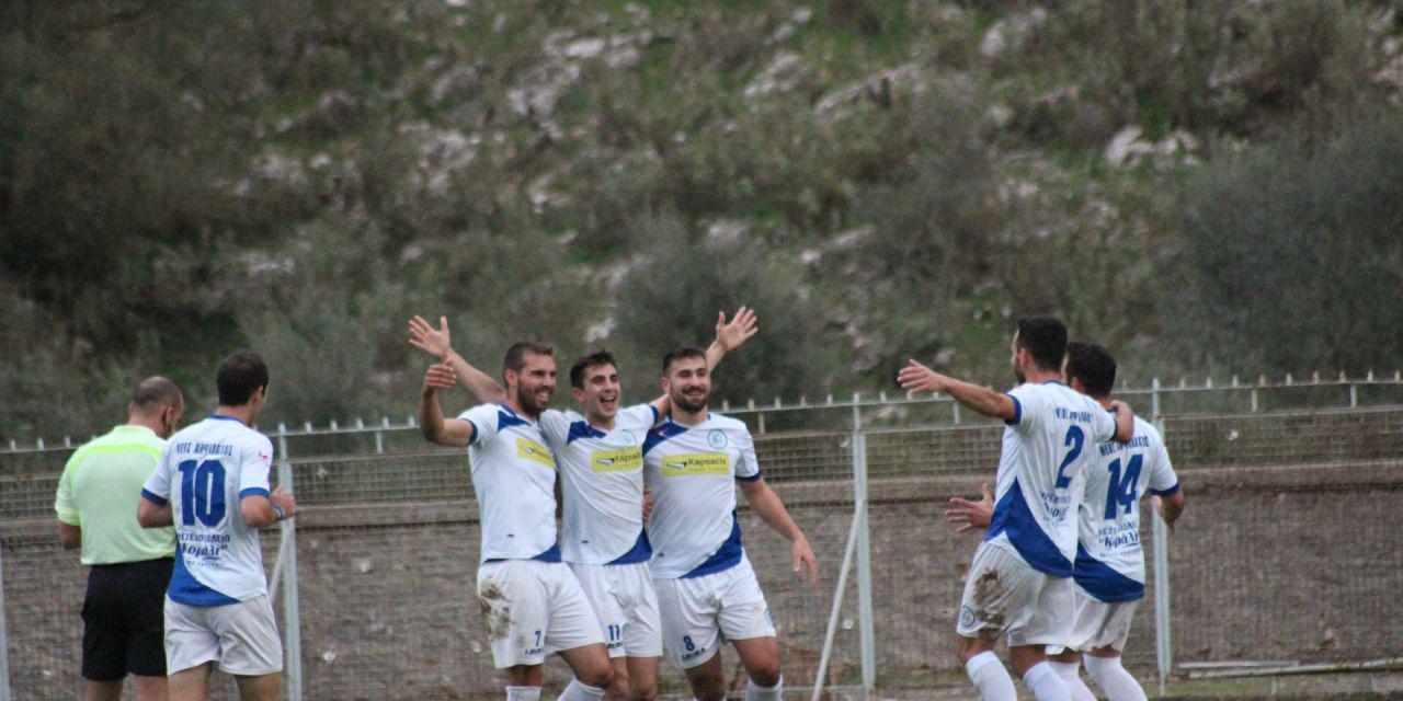 Μεγάλη νίκη για τον Αμφίλοχο 3-0 την  ΑΕΠ Καραγιαννίων.
