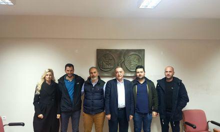 Συνάντηση Π.Τσιχριτζή με υποψηφίους από Αμφιλοχία, Βόνιτσα και Πάλαιρο