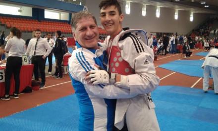 Χρυσό μετάλλιο για τον αθλητή του «ΚΕΝΤΑΥΡΟΥ ΑΣΤΑΚΟΥ» Νίκο Χρόνη στη Βουλγαρία