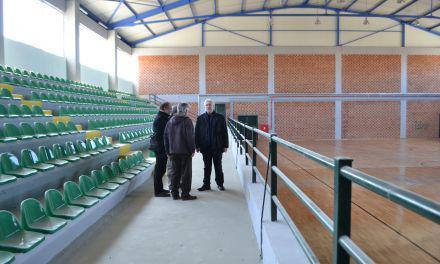 Αγρίνιο- Παρουσία Βασιλειάδη & Συναδινού τα εγκαίνια του Κλειστού Αθλητικού Κέντρου