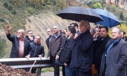 Ο Υπουργός Εσωτερικών Πάνος Σκουρλέτης στις πληγείσες περιοχές της Αιτ/νίας-Διαμαρτυρίες πολιτών(βιντεο-φωτο)