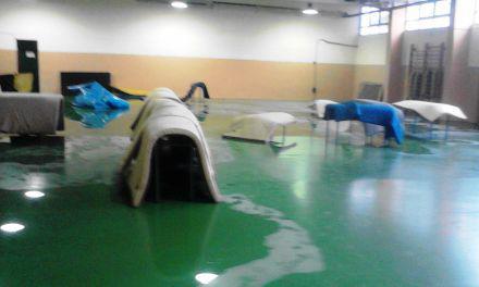 Ελληνορωμαϊκή πάλη Γ.Φ.Σ. Παναιτωλικός -Πλημμύρισε το υπόγειο γυμναστήριο