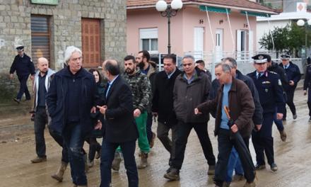 Θα συνδράμει ο Στρατός για γρήγορη αποκατάσταση των πληγεισών περιοχών της Αιτ/νίας