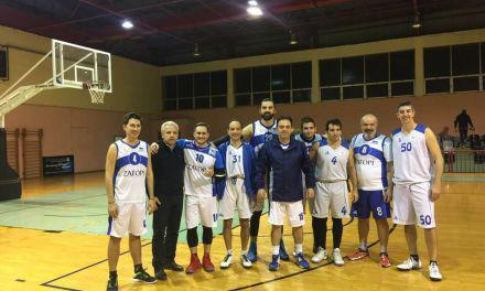 Στη Λάρισα με την ομάδα μπάσκετ της Βουλής βρέθηκε ο Δημήτρης Κωνσταντόπουλος