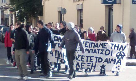 Επέτειος Γρηγορόπουλου: Πορεία στο κέντρο του Αγρινίου