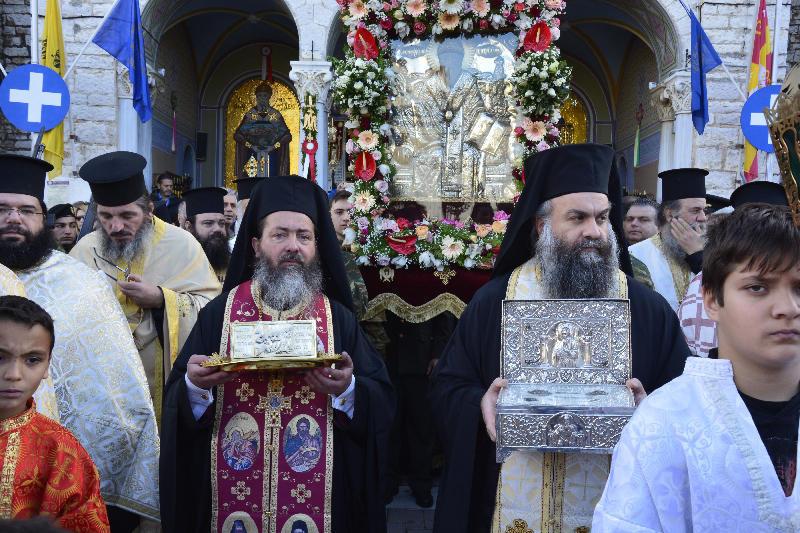 Η Ιερά Πόλη Μεσολογγίου τίμησε τον Άγιο Σπυρίδωνα (φωτο)