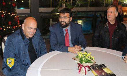 Παναιτωλικός-Συνάντηση με τον υφυπουργό Αθλητισμού
