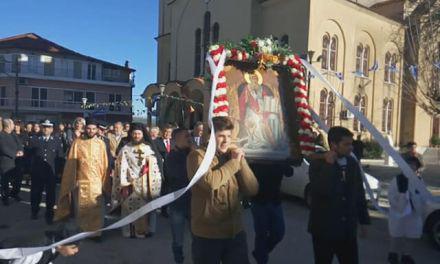 Η Λιτάνευση της εικόνας του Αγίου Αθανασίου Κατούνας.(φωτο)