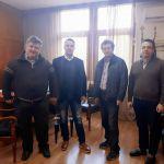 Συνάντηση του Αντιπεριφερειάρχη Κ. Μητρόπουλου και του Προέδρου ΤΕΙ Δυτικής Ελλάδας  Β. Τριανταφύλλου για την ενίσχυση του πρωτογενούς τομέα