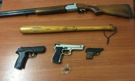 Συνελήφθη 50χρονος για όπλα και ναρκωτικά στο Μεσολόγγι