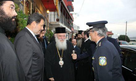 Ο Αρχιεπίσκοπος  κ.κ. Ιερώνυμος στην Αμφιλοχία /Μέγας Εσπερινόςστον Ι.Ν Αγίου Αθανασίου/ Θα ανακηρυχθεί Επίτιμος Δημότης(βιντεο-φωτο)