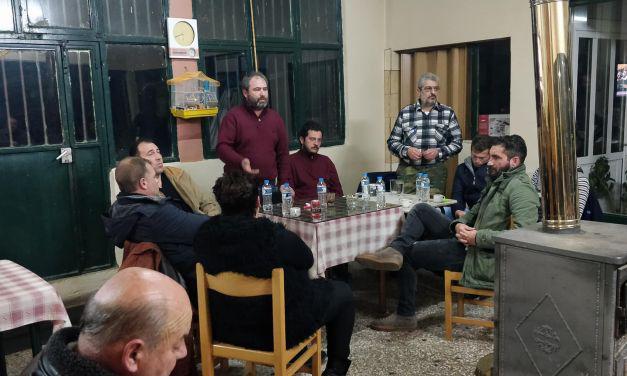 Συνέντευξη τύπου στο ΕΚ Αγρινίου για προβλήματα των αγροτών