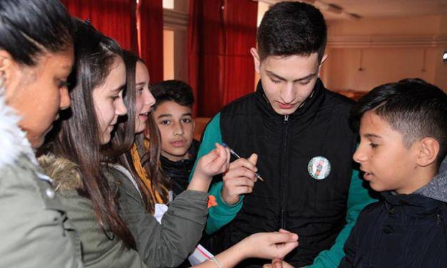 Επίσκεψη του ΑΟ Αγρινίου στο 6ο Γυμνάσιο (φωτο)