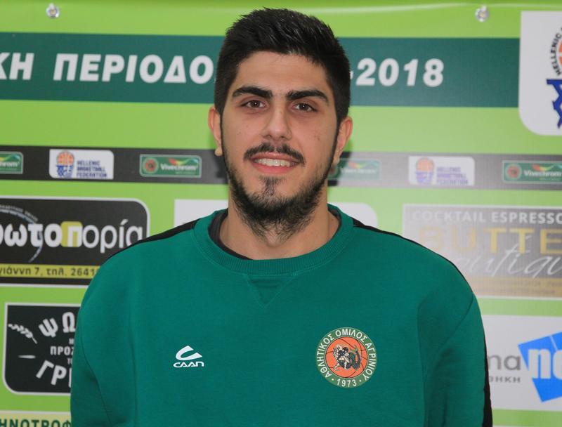 Δηλώσεις Τασόπουλου ενόψει του εντός έδρας αγώνα του Α.Ο. Αγρινίου με το Φαίακα Κέρκυρας