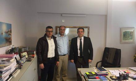 Συνάντηση Δ.Κωνσταντόπουλου με την Ένωση Στρατιωτικών Περιφερειακής Ενότητας Αιτωλοακαρνανίας