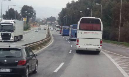 Στο συλλαλητήριο με λεωφορεία από την Αιτωλοακαρνανία(φωτο)