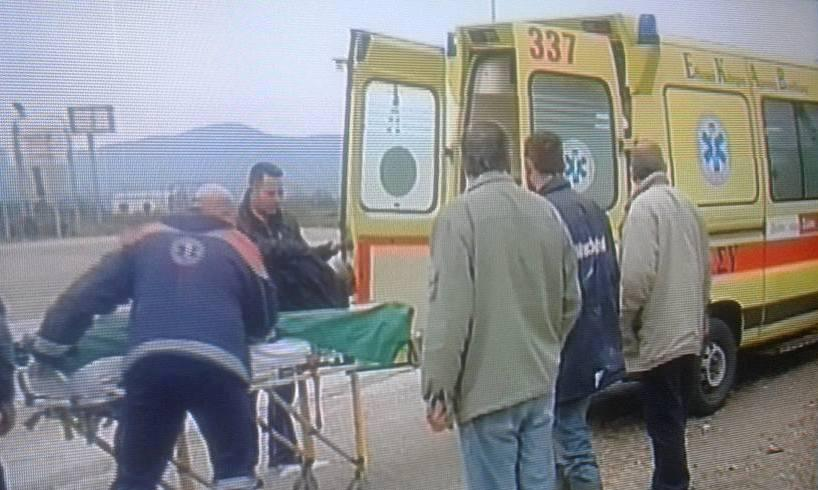 Αγρίνιο/Σφοδρή σύγκρουση στη Στράτου-Τραυματίστηκε ένα άτομο