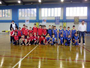 Φιλικές αναμετρήσεις στο ΔΑΚ ΑΣΤΑΚΟΥ/ Οι μικροί αθλητές ευχαριστήθηκαν το παιχνίδι