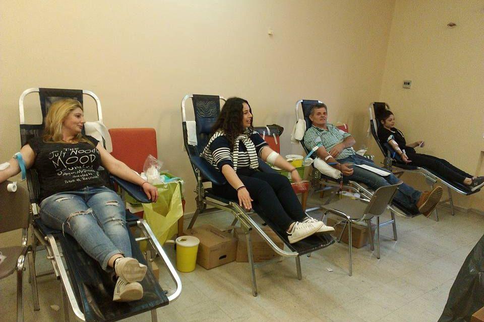 Εθελοντική Αιμοδοσία στο Θέρμο το Σάββατο