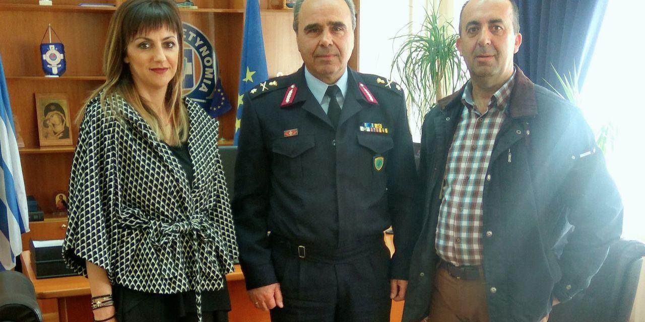 Η Ένωση Αστυνομικών Υπαλλήλων Ακαρνανίας συναντήθηκε με τον νέο Γενικό Περιφερειακό Αστυνομικό Διευθυντή