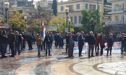 Αγρίνιο-Απεργιακή συγκέντρωση και πορεία από την Ένωση Οικοδόμων(ΦΩΤΟ-ΒΙΝΤΕΟ)