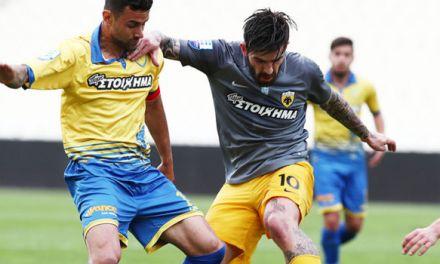 Η  ΑΕΚ νίκησε με 4-0 και τον Παναιτωλικό