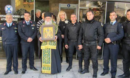 Υποδοχή του Τιμίου Ξύλου στη Γενική Περιφερειακή Αστυνομική Διεύθυνση Δυτικής Ελλάδας
