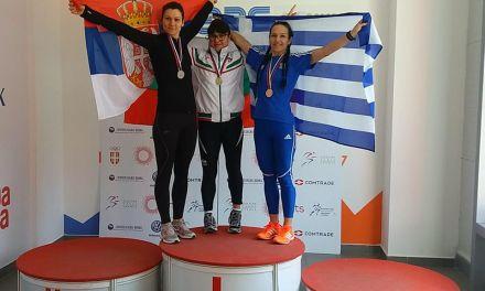 Χριστίνα Μαραγιάννη: Συνεχίζει την ανοδική πορεία-Κατέκτησε 4 μετάλλια στο Βαλκανικό Πρωτάθλημα Στίβου