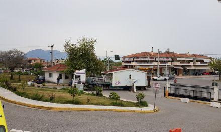 Δύο λυόμενες αίθουσες για την στέγαση του ΕΚΑΒ Μεσολογγίου