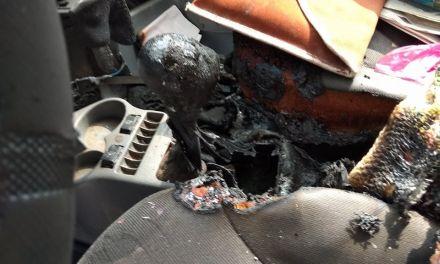 Μυστήριο η κλοπή μπαταρίας και η φωτιά σε όχημα στη Γαβαλού του Δήμου Αγρινίου